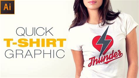 design tshirt adalah illustrator tutorial how to create simple tshirt graphic