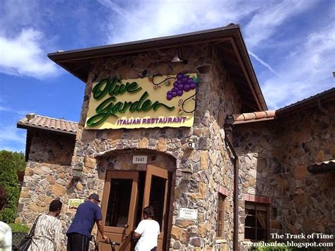 Olive Garden Timings by Olive Garden Chicken Parmigiana The Track Of Time