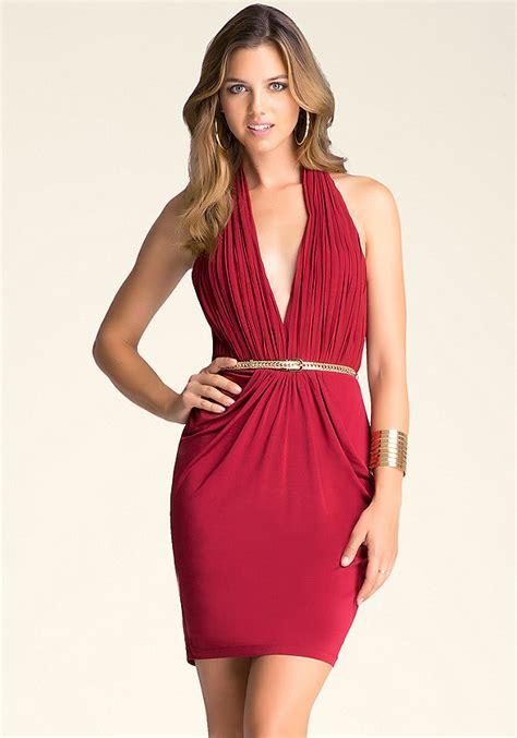 Sale Dress Bebe Halter 1 v halter dress bebe