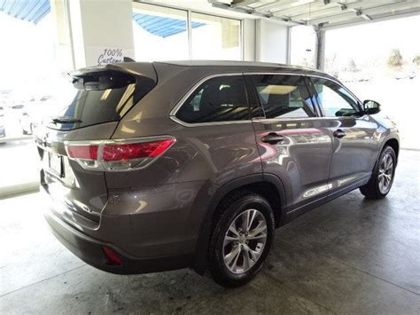 2015 Toyota Highlander Xle Review Toyota Highlander Xle 2015 Reviews Prices Ratings With