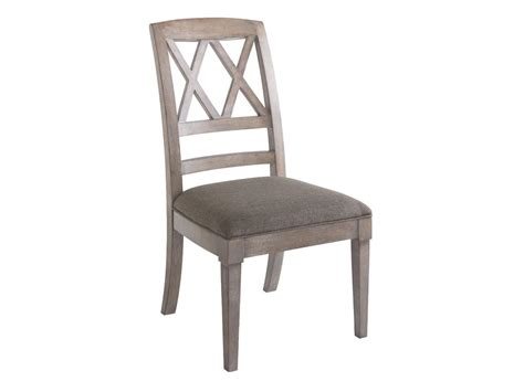 Bassett Furniture Dining Chairs Bassett Dining Room X Back Side Chair 4525 2455 Hickory Furniture Mart Hickory Nc