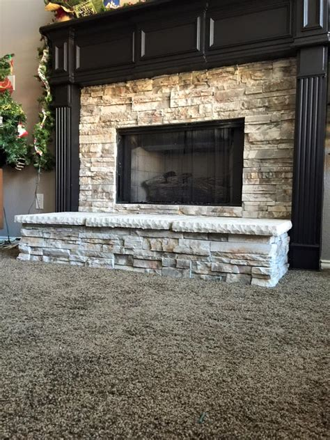 Fireplace Remodel Contractors by Veneer Fireplace Remodel Remodeling Contractor