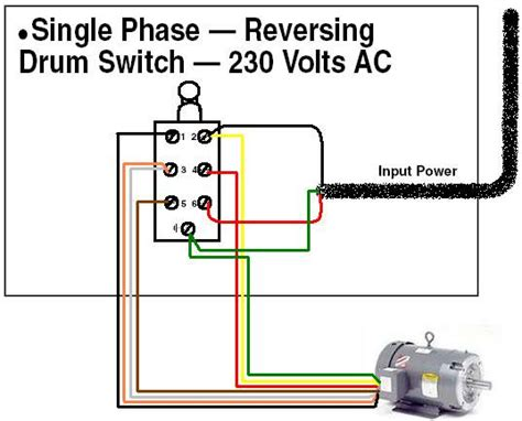 reversing drum switch wiring diagram im trying to wire a dayton 2x440a drum switch foward and