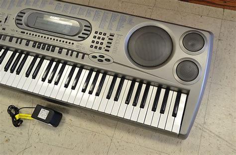Keyboard Casio Wk 1800 Baru casio wk 1800 76 key synthesizer keyboard reverb