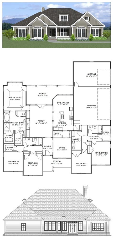 five bedroom house plans best 25 3 car garage plans ideas on pinterest