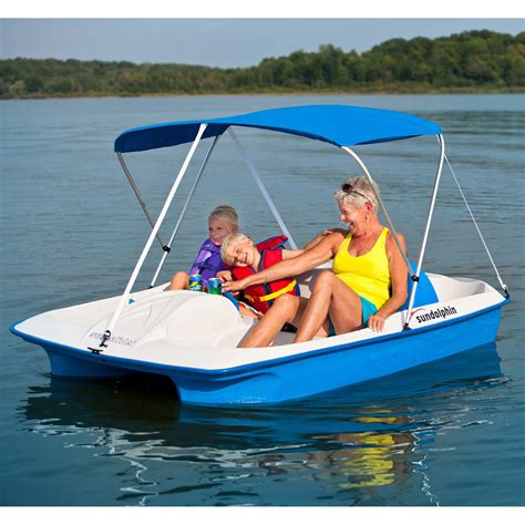 boat paddle pictures sun dolphin blue sun slider paddle boat with canopy
