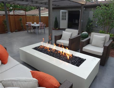modern outdoor firepit landscaping in denver 187 archive 187 contemporary outdoor heaven in denver city