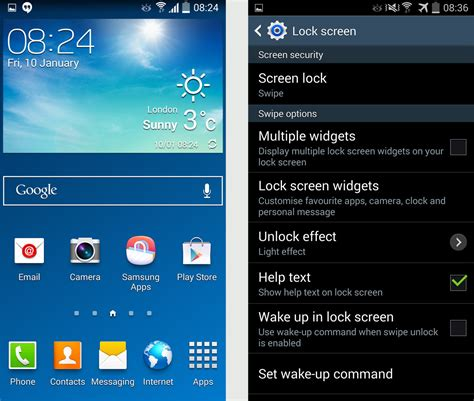 update android os samsung android os upgrade details leaked