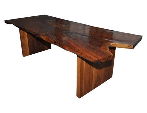 hudson furniture claro walnut slab dining table the