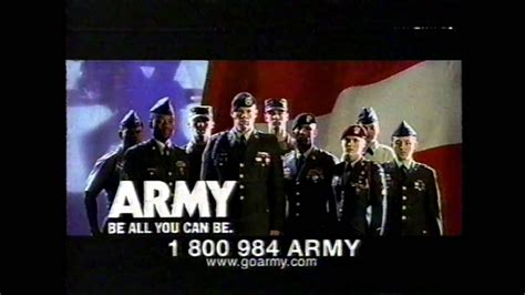 Can You Get In The Army With A Criminal Record Army Be All You Can Be Commercial 1990