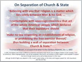 Thomas jefferson s great 1801 defense of separation of church and