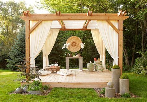 Lowes Backyard Ideas Tiki Bar And Outdoor Kitchens On Pinterest Tiki Bars Outdoor Bars And Pergolas