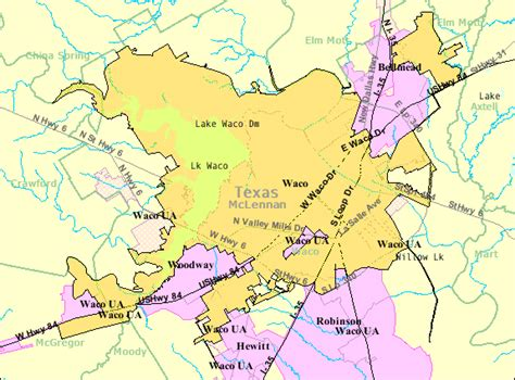 map of texas waco file waco texas map gif