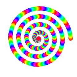 color animation rainbow spiral animation by 10binary animazione