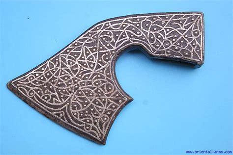 ottoman axe oriental arms rare 17 c ottoman saddle axe head