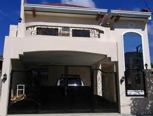 House Design Sample Pictures by Simple House Design With Terrace 2 Storey In The
