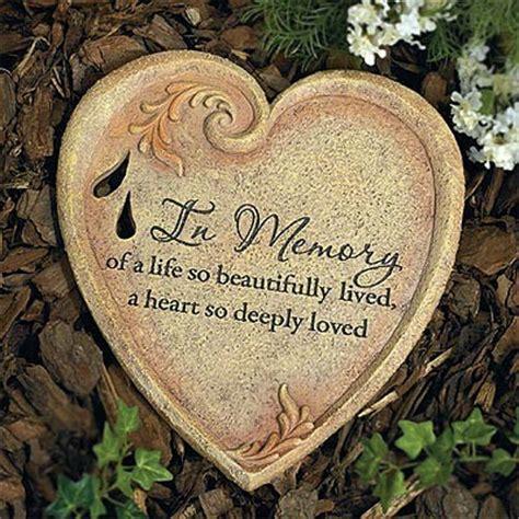 memory stones   garden  life  beautifully lived