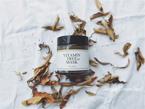 I M From Vitamin Tree Mask Im review i m from vitamin tree mask skincare dreamland
