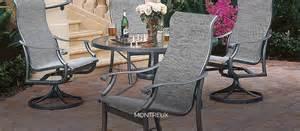 Tropitone Outdoor Patio Furniture by Tropitone Montreux Sling Furniture Los Angeles Amp Orange