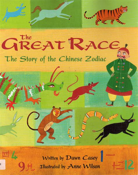 new year zodiac race story american born children s book alley lunar new