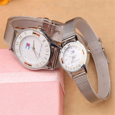 Jam Tangan Geneva 002 tomi jam tangan analog yq002gi silver