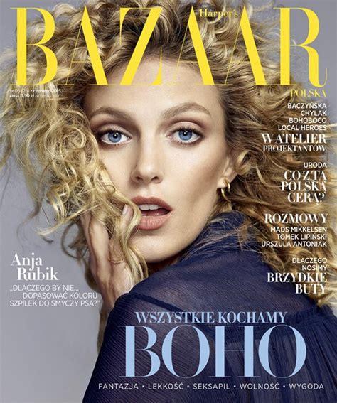 design magazine poland anja rubik covers harper s bazaar poland june 2015