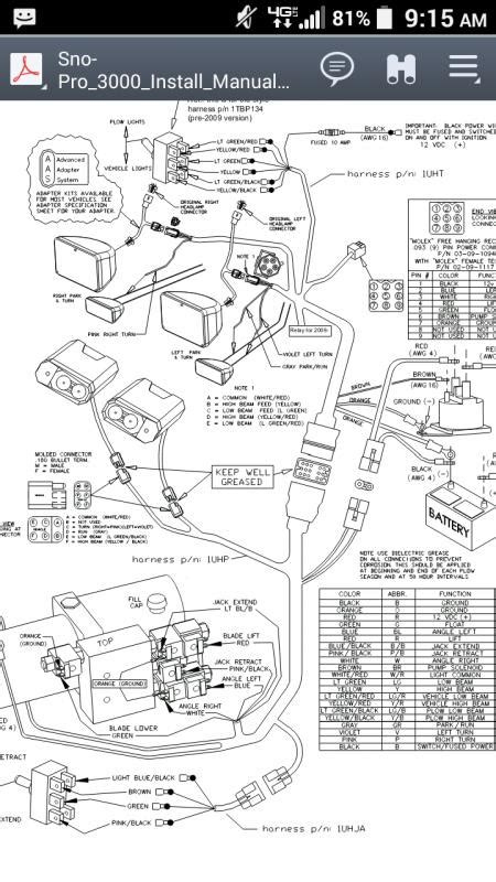 curtis snow plow wiring diagram fisher 3 port