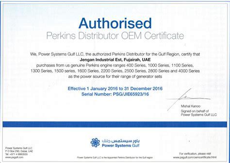 oem authorization letter format certification jengan