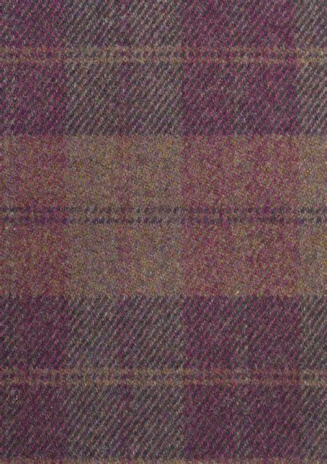green check upholstery fabric drummond wool plaid fabric 100 wool fabric in purple and