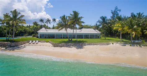 bedroom luxury beachfront home  sale lyford cay  bahamas  heaven properties