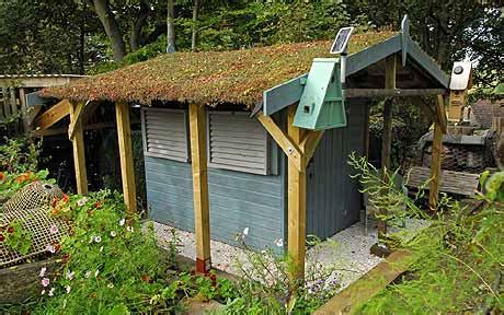 build   eco shed telegraph