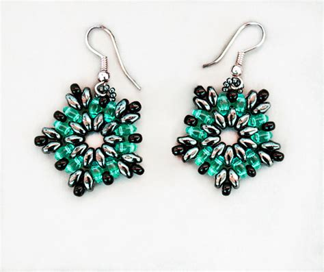 beaded earrings patterns free free pattern for beaded earrings luzana magic