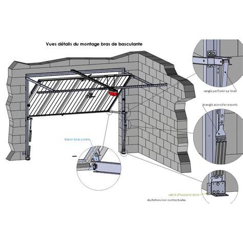 montage porte garage basculante bras de porte de garage basculante