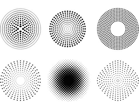pattern illustrator dots dots and halftone pattern free vector in adobe illustrator