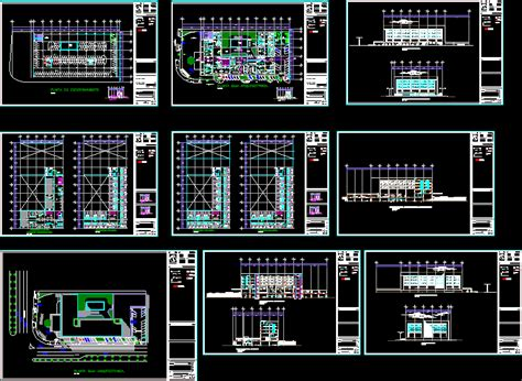 business hotel  autocad  cad   mb
