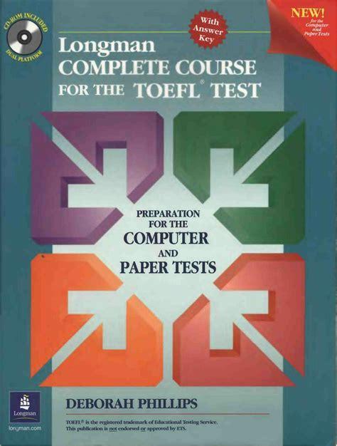 Persiapan Toefl Untuk Pelajarmahasiswadan Umum free longman complete course for the toefl test