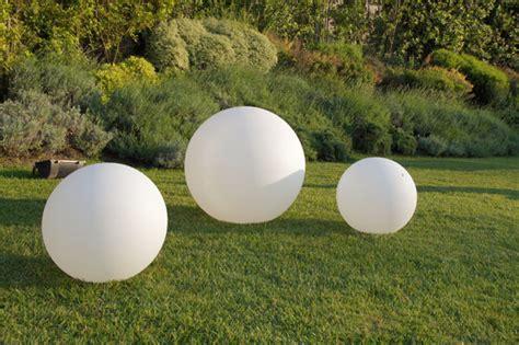 sfere illuminazione giardino vaso luminoso globo led multicolor sfera 80 cm piscina