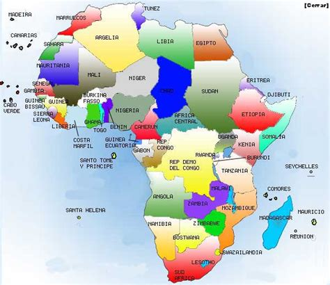 mapa de africa interactivo de geograf 237 a e historia 1 186 eso ies la flota mapa