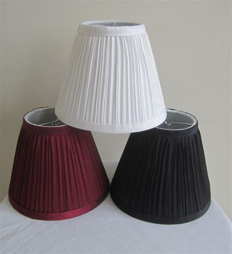 urbanest random mushroom pleat chandelier l shades 3 quot x6 quot x5 quot burgundy set of 6 l shades