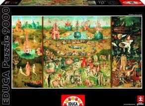 puzzle bosch le jardin des d 233 lices educa 14831 9000