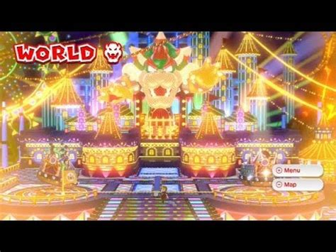 Super Mario 3d World Guide World 8 All Levels Beaten | super mario 3d world 100 walkthrough part 21 world 8 8
