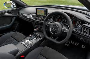 Car Interior Upholstery Prices Audi Rs6 Avant Interior Autocar