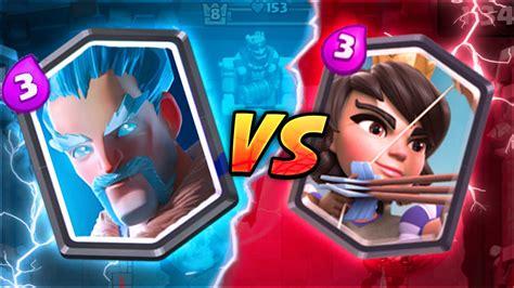 clash royale wizard vs princess legendary card showdown best legendary in clash