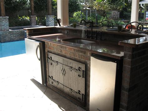 exterior kitchen cabinets have the outdoor kitchen cabinet doors for your home my