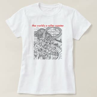 T Shirt In Roller roller coaster t shirts shirt designs zazzle