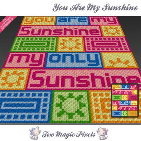 pattern for you are my sunshine blanket you are my sunshine crochet blanket twomagicpixels