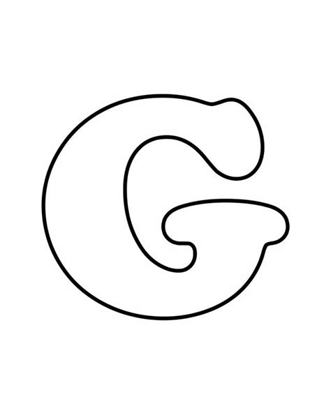 18 Best Alphabet Letters Images On Pinterest Alphabet Letters Draw And Letters Color In Letter Template