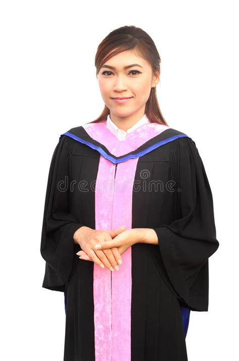 graduation women  degree suit stock photo image