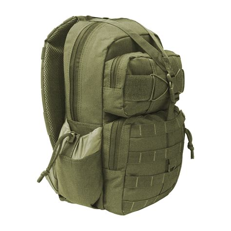 hydration hiking backpack every day carry tactical sling day pack molle hydration