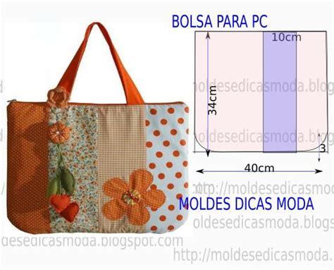 moldes bolsas tecido gratis molde de bolsa para pc computador bolsinhas e sacola